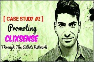 Adhitz Case Study #2 : Promoting Clixsense 2