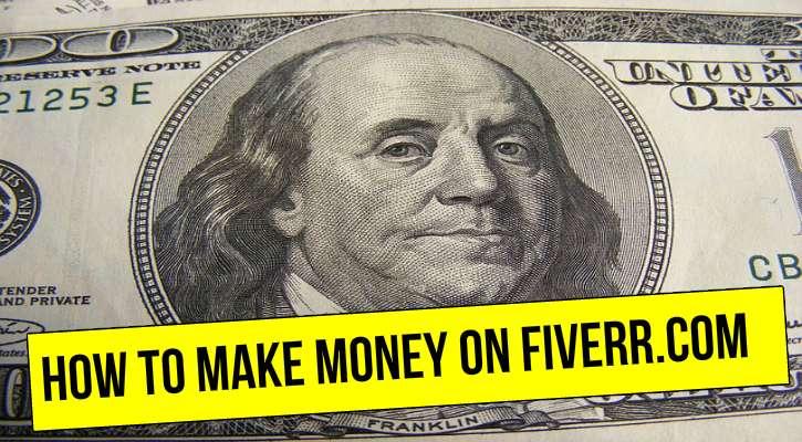 how to make money on fiverr.com