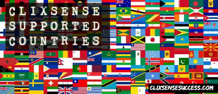 Clixsense Supported Countries: Who Can Join Clixsense?