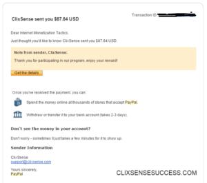 clixsense payment proof November 2016