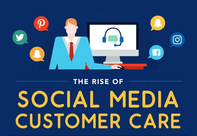 customer care social media
