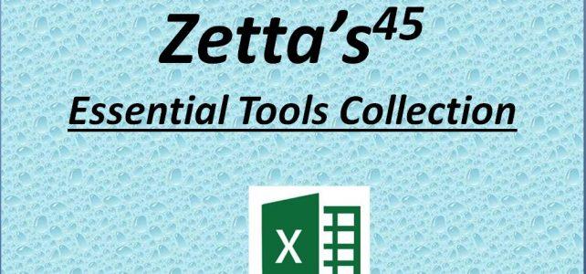 zettas essential excel tools