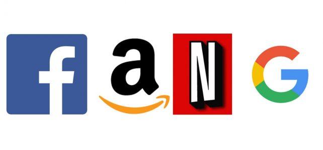 logos from major corporations such as facebook, amazon, netflix, google