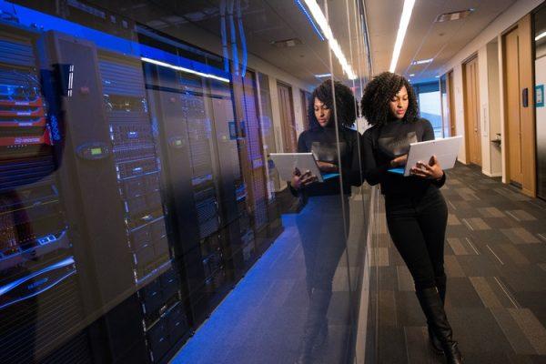 Web Hosting Server Room