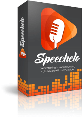 speechelo product cover with mic